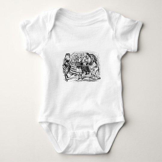 Unicorn och lejont tee shirt