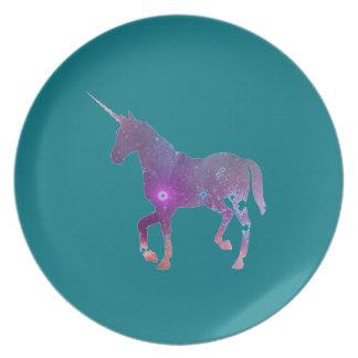 unicorn tallrik