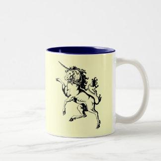 Unicorn Två-Tonad Mugg