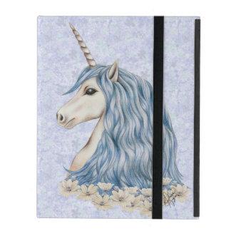 Unicornblåtthår iPad Skal