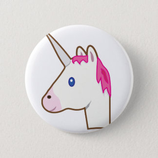 Unicornemoji Standard Knapp Rund 5.7 Cm