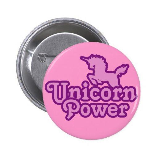 Unicornen driver! Rolig novelty knäppas Knappar