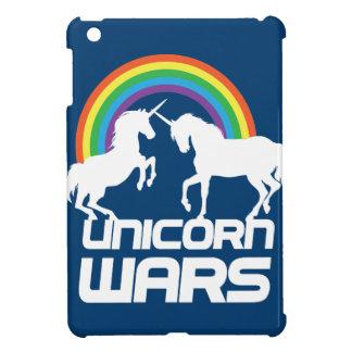Unicornen kriger med regnbågen iPad mini mobil fodral