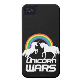 Unicornen kriger med regnbågen iPhone 4 skal
