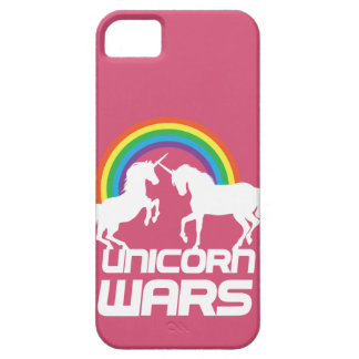 Unicornen kriger med regnbågen iPhone 5 Case-Mate fodraler