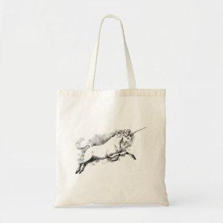 unicornen skissar moderiktig mode för budget tygkasse