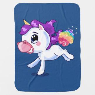 Unicornfisar Bebisfilt