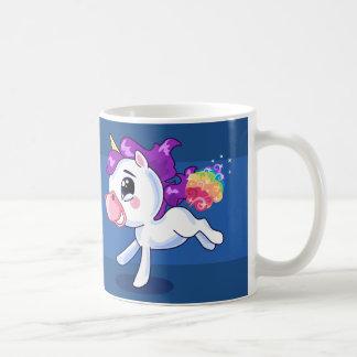 Unicornfisar Vit Mugg