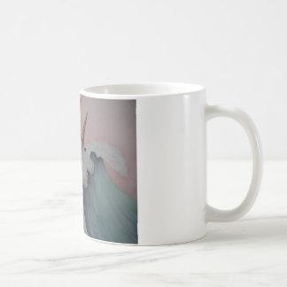 Unicorns av havet kaffemugg