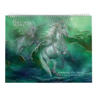 Unicornskonstkalender Kalender