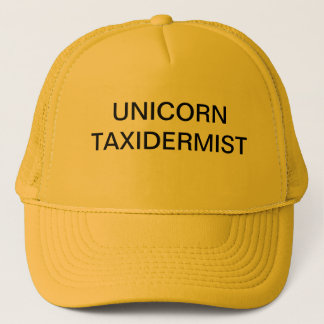 UnicornTaxidermist Truckerkeps