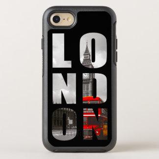 Unik bild för foto för typografiLondon stad OtterBox Symmetry iPhone 7 Skal