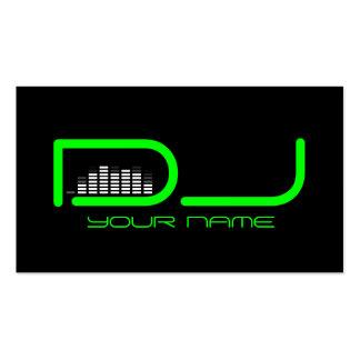 Unik DJ-visitkort