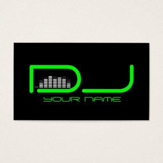 Unik DJ-visitkort Visitkort