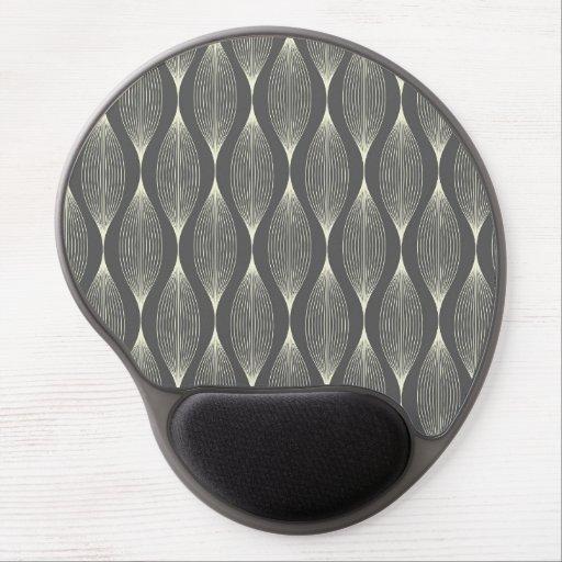 Unik mönsterGel Mousepad Gelé Mus-mattor