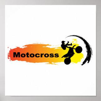 Unik Motocross Poster