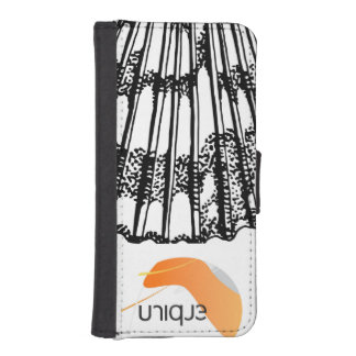 Unik mussla Iamge iPhone SE/5/5s Plånbok
