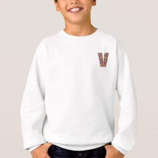 Unika gåvor för vännamn med alfabetisk V V VVV T Shirts