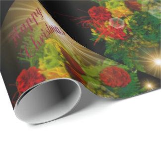 unikt glansigt slående in papper, färgrikt som är presentpapper