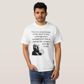 Unimaginative ledningT-tröja för italienskt jobb Tshirts