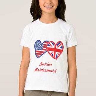 Union Jack/USA T Shirt