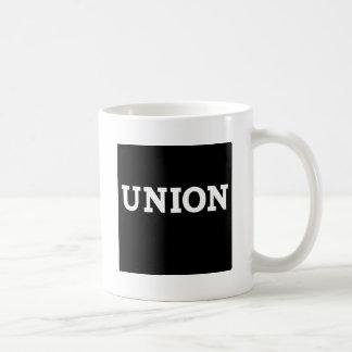 Union kvadrerar kaffemugg