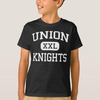 Union - riddare - högstadium - LaPorte stad Iowa T Shirt
