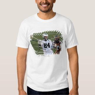 UNIONDALE NY - JULI 28:  John anslags- jr. #24 6 Tee Shirt