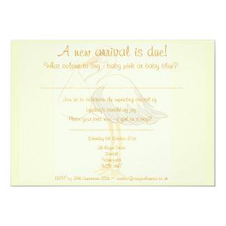 Unisex- baby showerinbjudan - pojke eller flicka 12,7 x 17,8 cm inbjudningskort