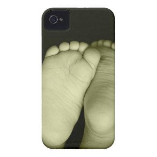 Unisex- gul baby för gullig babyfot
