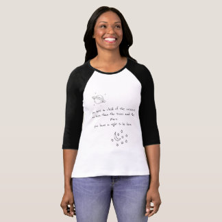 Unisex- skjorta för Tumblr citationstecken T-shirt