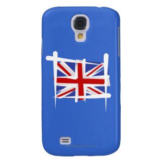 United Kingdom borstar flagga Galaxy S4 Fodral