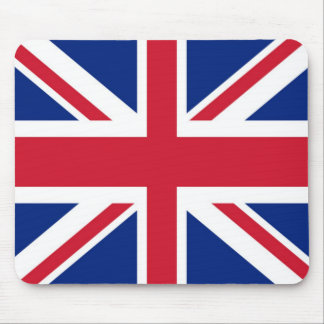 United Kingdom/brittisk flagga Mousepad (för fackl Musmatta