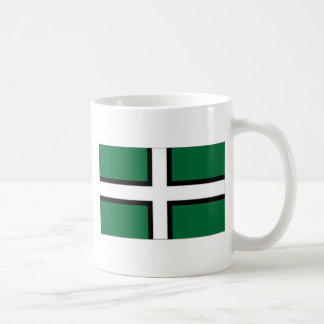 United Kingdom Devon flagga Kaffemugg