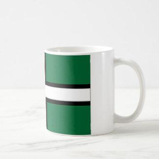 United Kingdom Devon flagga Kaffemugg