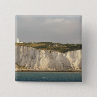 United Kingdom Dover. De berömda vitklipporna Standard Kanpp Fyrkantig 5.1 Cm