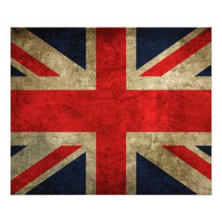 United Kingdom flagga Fototryck