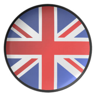 United Kingdom flagga Tallrik