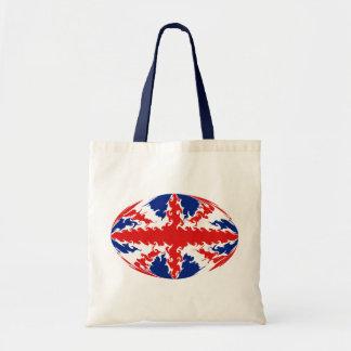 United Kingdom hänger lös den Gnarly flagga Tygkassar