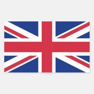 United Kingdom medborgareflagga Rektangulärt Klistermärke