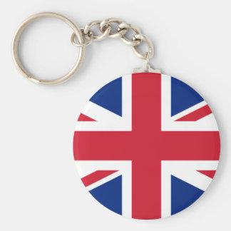 United Kingdom Rund Nyckelring