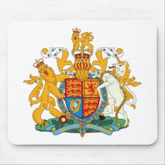 United Kingdom vapensköld Mousepad Musmatta
