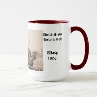 United States för Wasp 1806 historisk frakt Mugg