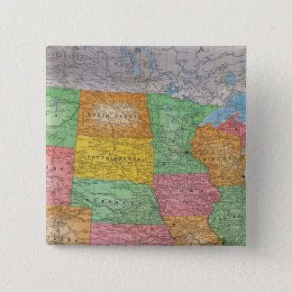 United States karta 3 Standard Kanpp Fyrkantig 5.1 Cm