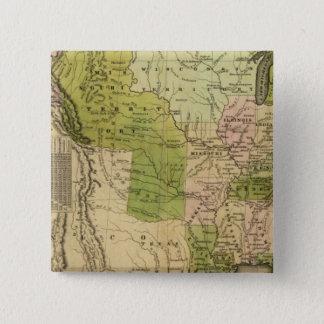 United States Olney karta Standard Kanpp Fyrkantig 5.1 Cm