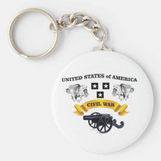 United States påskyndade hästen cw Rund Nyckelring