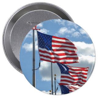 United States sjunker fotograferar Stor Knapp Rund 10.2 Cm