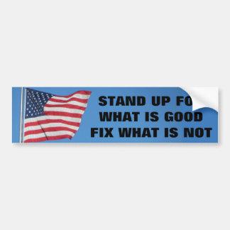 United States sjunker stativ för vad är bra Bildekal