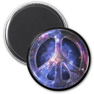 Universell fredmagnet magnet rund 5.7 cm
