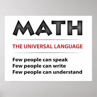 Universellt språk poster
